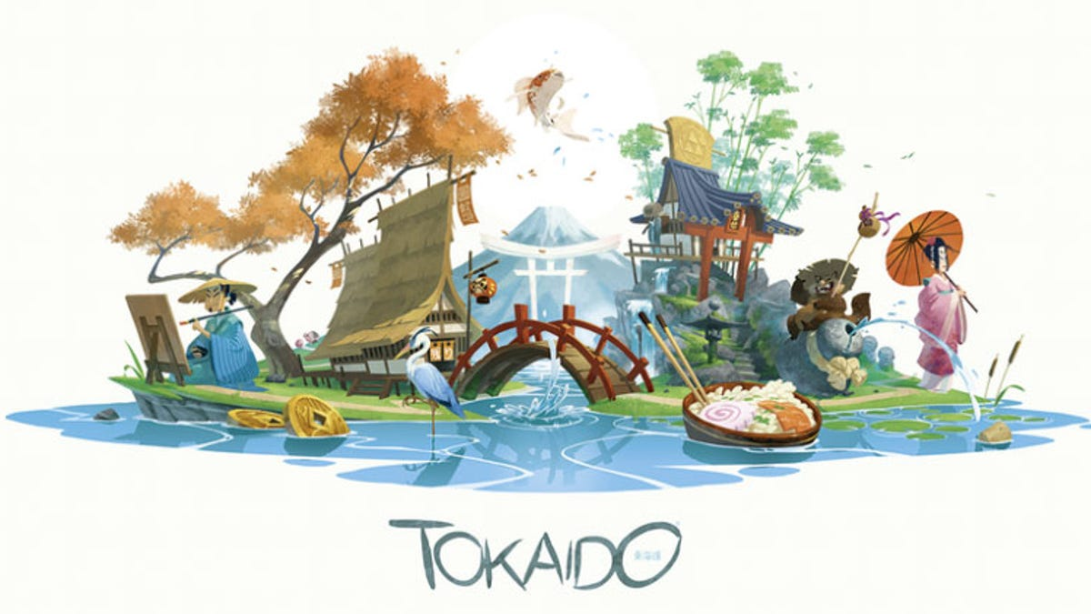 Tokaido Is A Beautiful Board Game