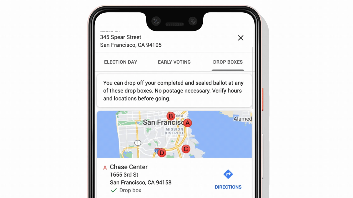 Don't Know Where to Vote? Google Will Now Show You in Search and Maps
