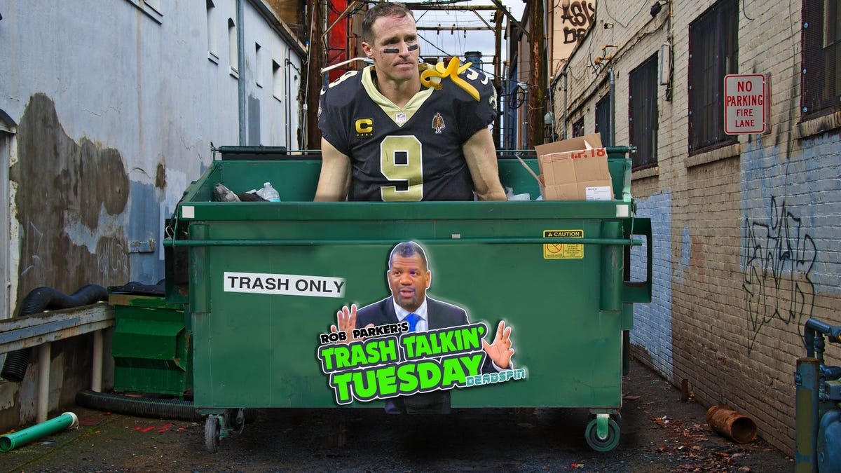 Drew Brees smelled like garbage on way out the door