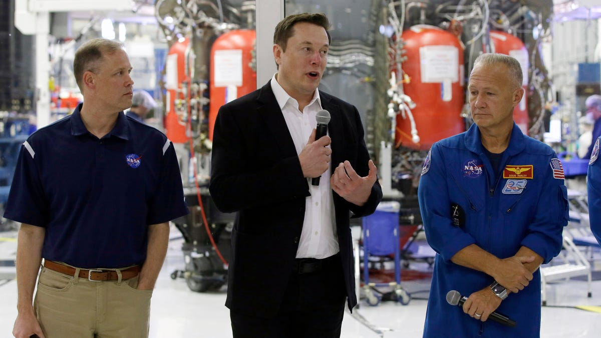 Elon Musk: NASA Can Share SpaceX's IP With Literally Anybody, 'No Charge'