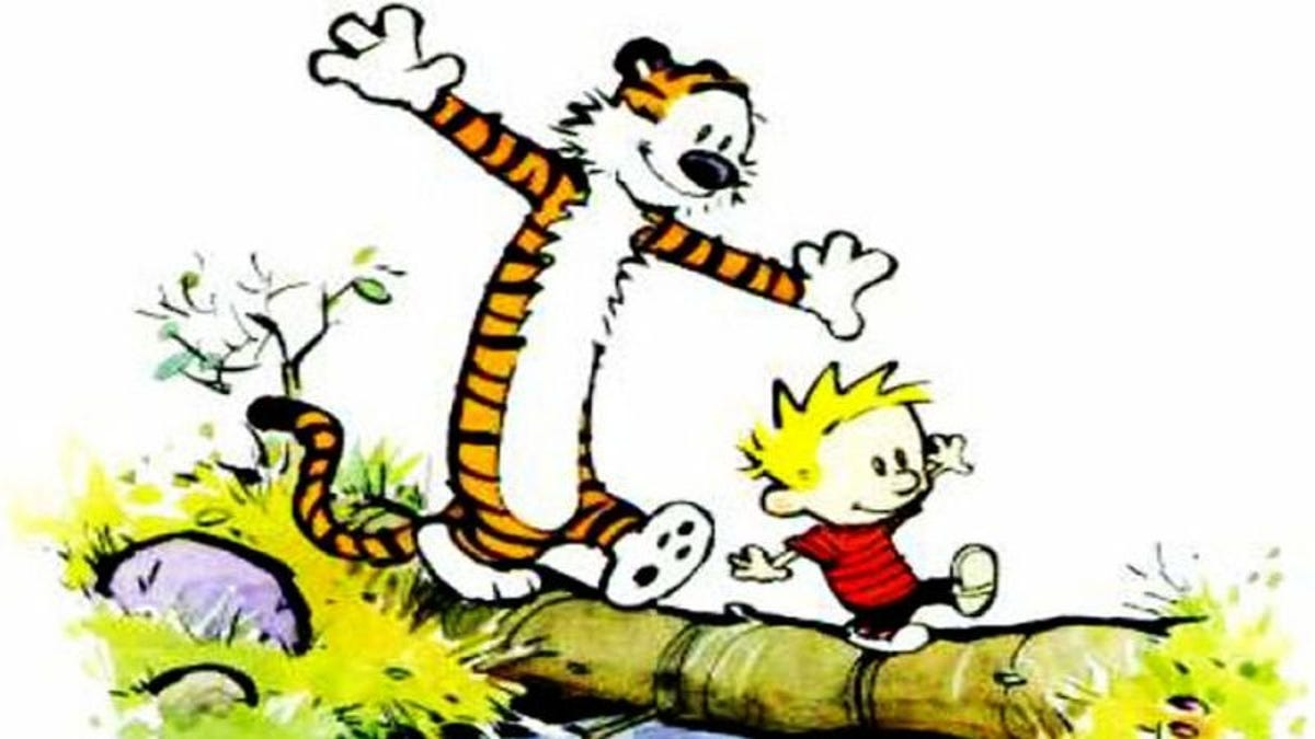 Calvin And Hobbes' Bill Watterson secretly drew some comic strips this week