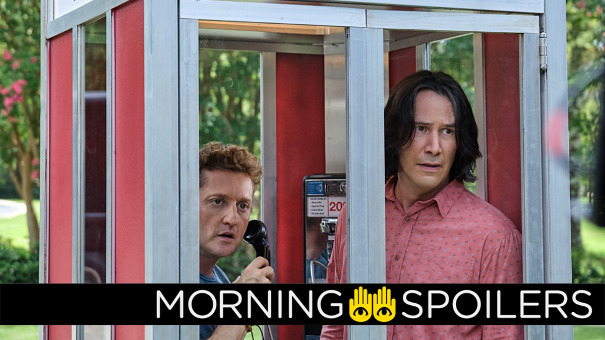 Updates From Bill & Ted's Return, The Matrix 4, and More