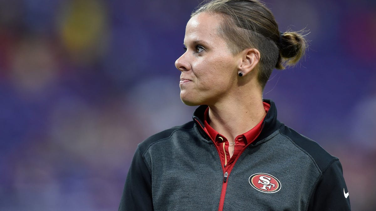The 49ers' Katie Sowers Will Be the First Woman and Openly Gay Coach to Head to the Super Bowl