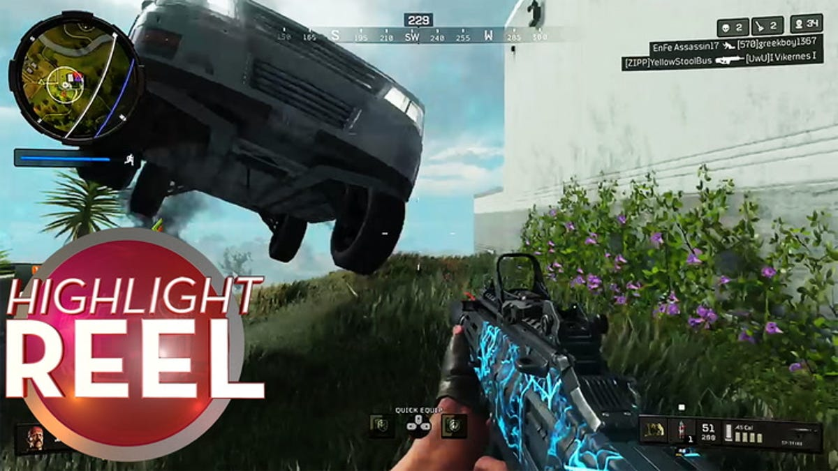 Call of Duty Player Hit With Car, People's Elbow