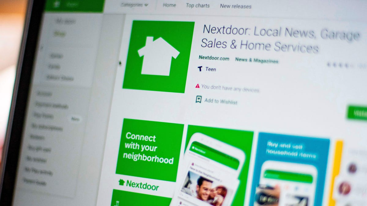Nextdoor Is Quietly Getting the Cops Involved: Report