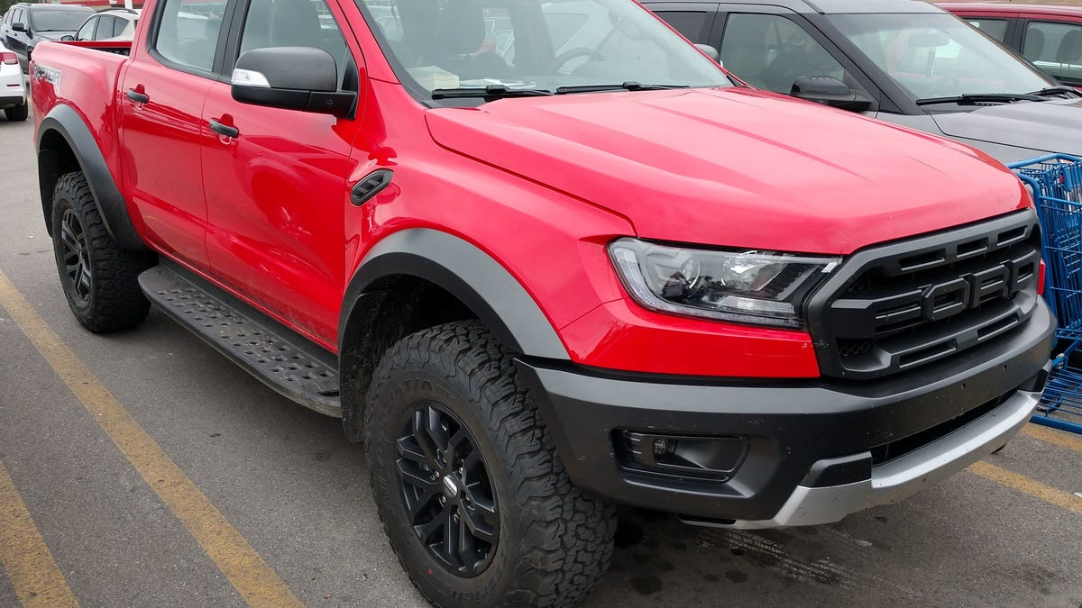 2019 Ford Ranger Raptor Here It Is Hanging Out In Michigan