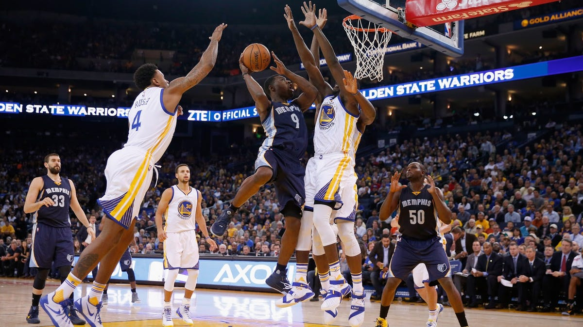 Draymond Green and Tony Allen argue over title of NBA's best defender