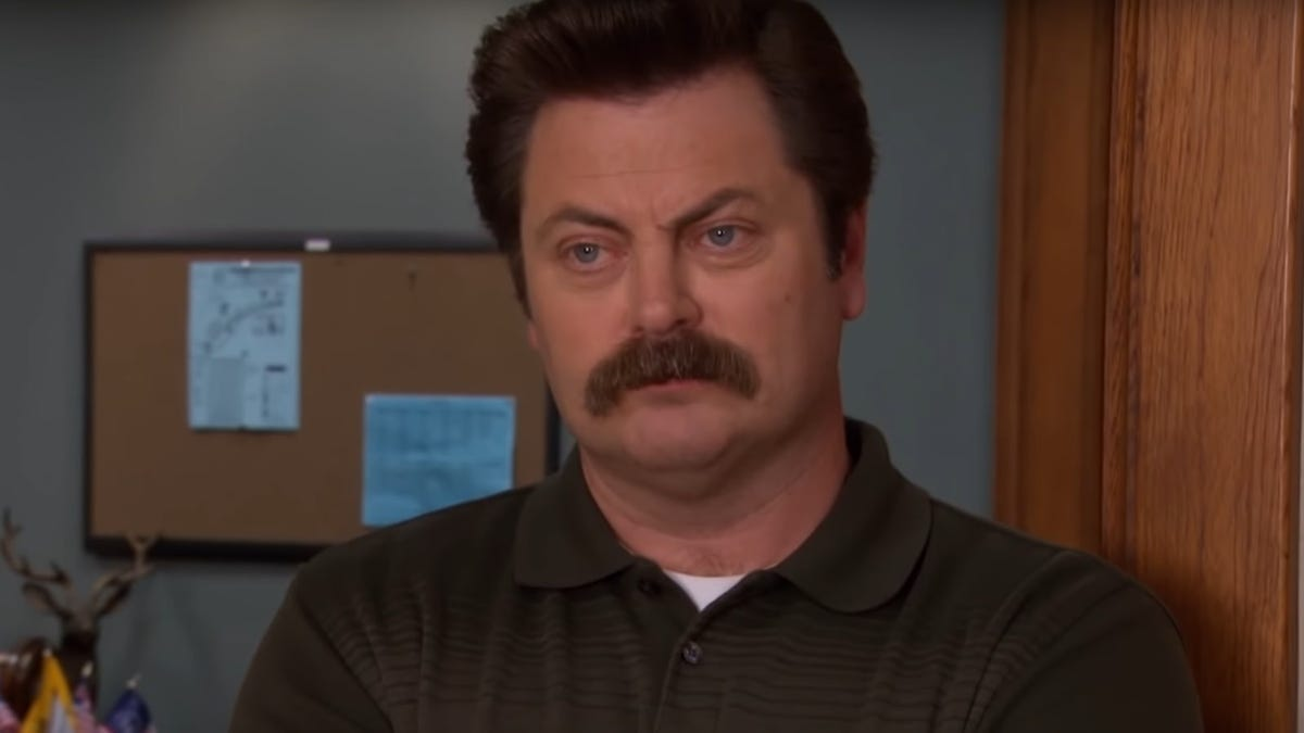 Nick Offerman has helpful feedback for all the people in Ron Swanson costumes out there
