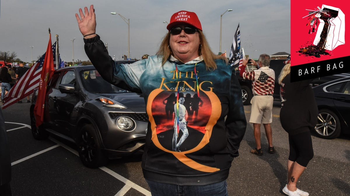 QAnon Tearily, Tragically Reckoning With the Shock That Biden Is President