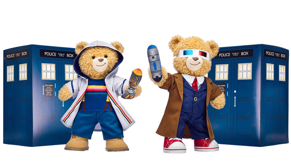 Build-a-Bear's Doctor Who Plushies Come With 2 Hearts, Which Melts Ours