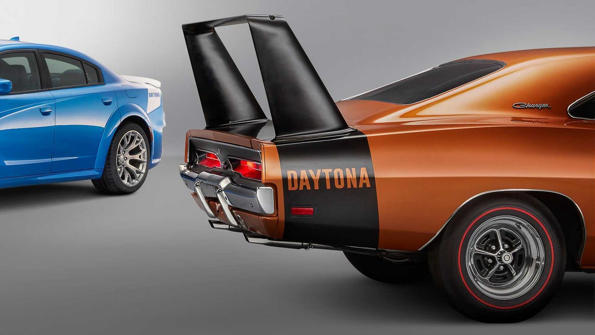 No One Should Pay Six-Figures For A Dodge Charger Daytona That Doesn't Have A Ridiculous Wing