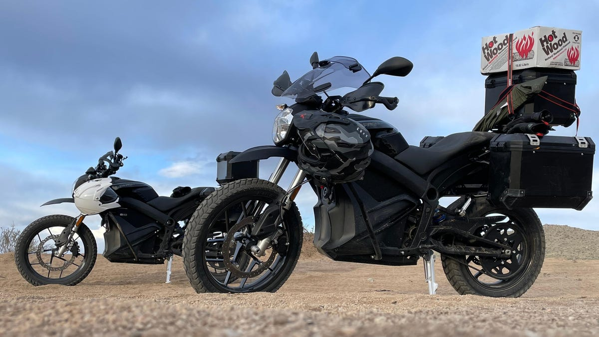 Two Days In The Desert On An Electric Motorcycle