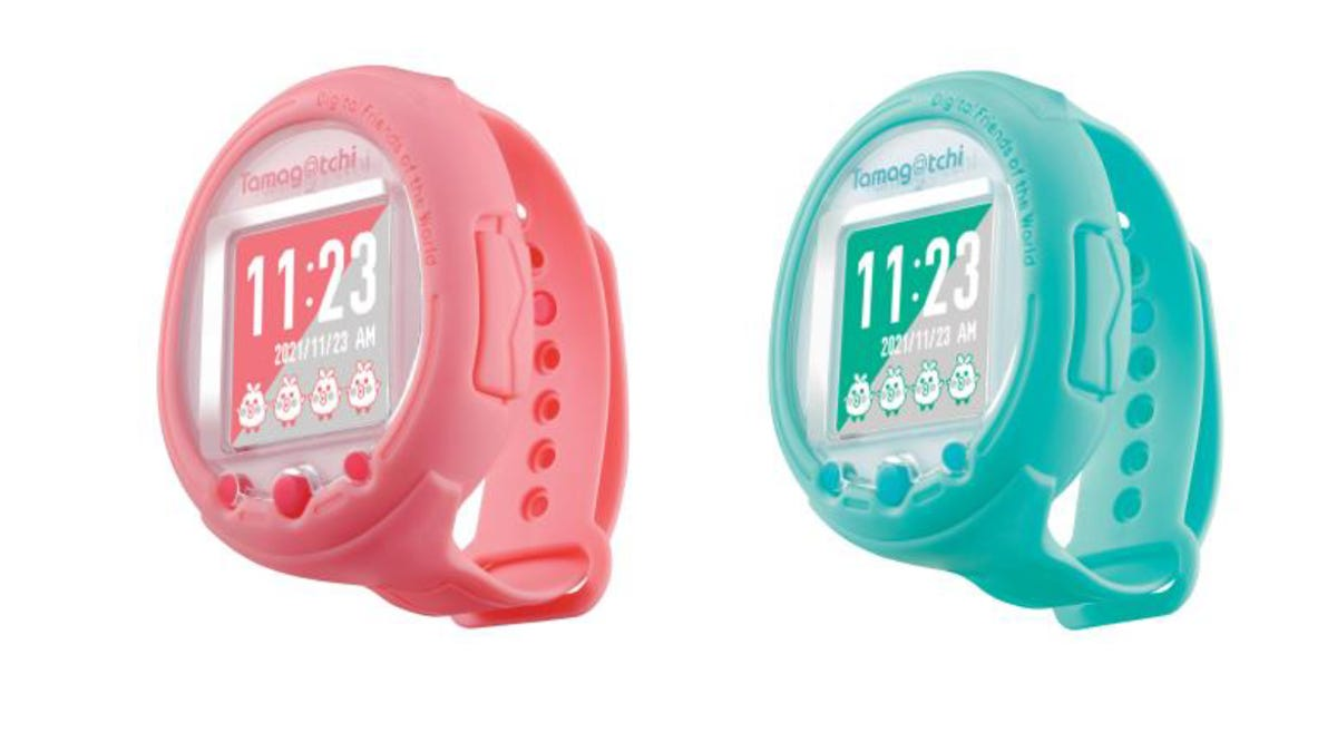 Tamagotchi's Smartwatch Is Way Cuter Than Apple's