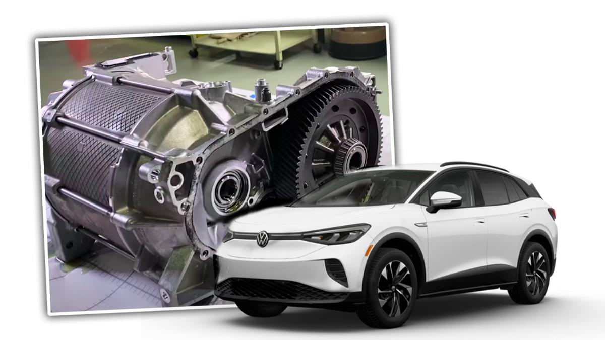 Engineering Experts At Munro Tear Down Volkswagen ID.4 Electric Motor, Remind Us That VW Engineers Aren't Scrubs