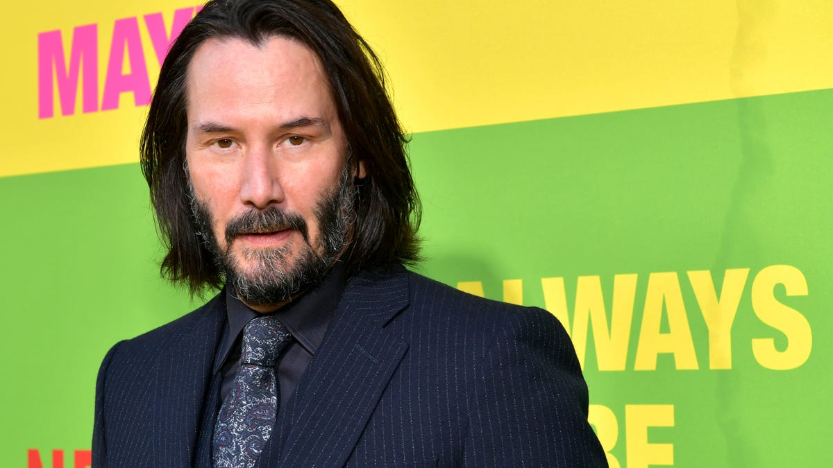 Keanu Reeves is auctioning a 15-minute Zoom call with Keanu Reeves for charity - The A.V. Club