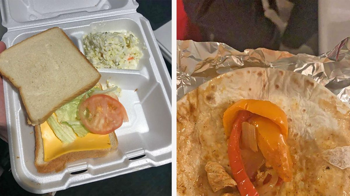 Oakland A's minor league teams postgame meal is straight outta Fyre Festival