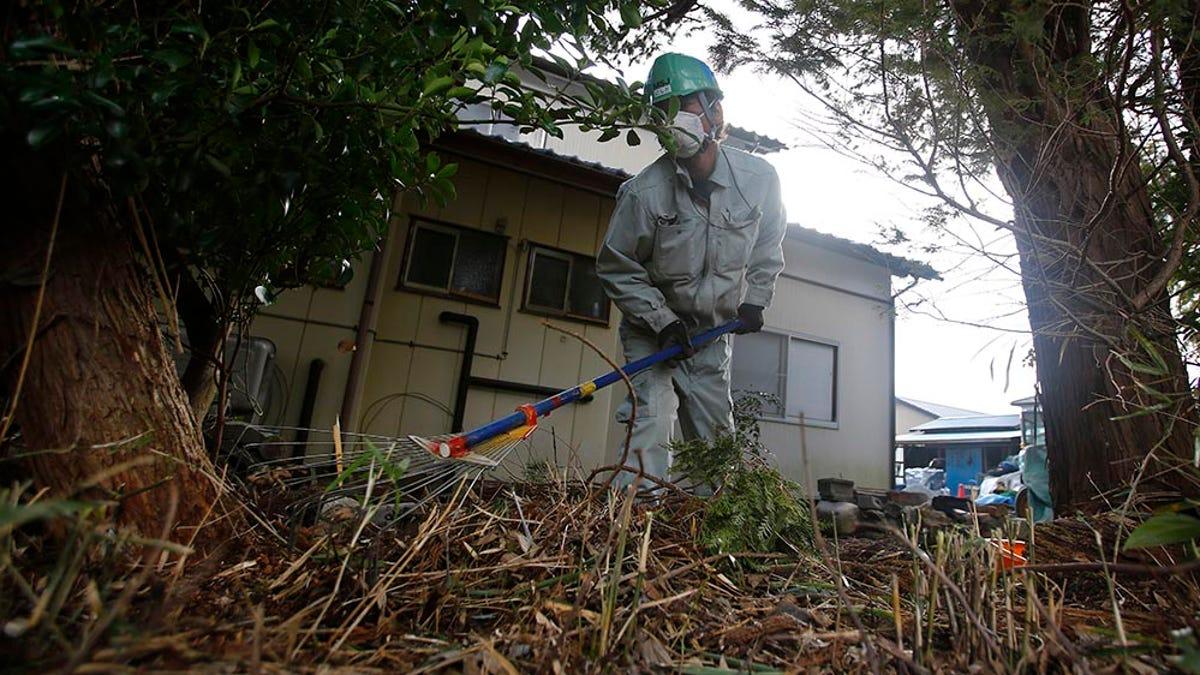El último tifón en Japón arrojó escombros de Fukushima a un río