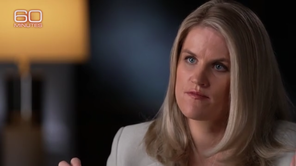 9 Horrifying Facts From the Facebook Whistleblower's New 60 Minutes Interview thumbnail