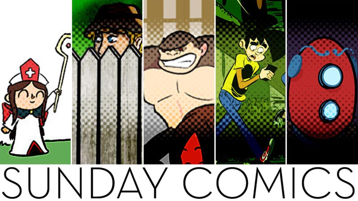 Sunday Comics: HONK HONK!
