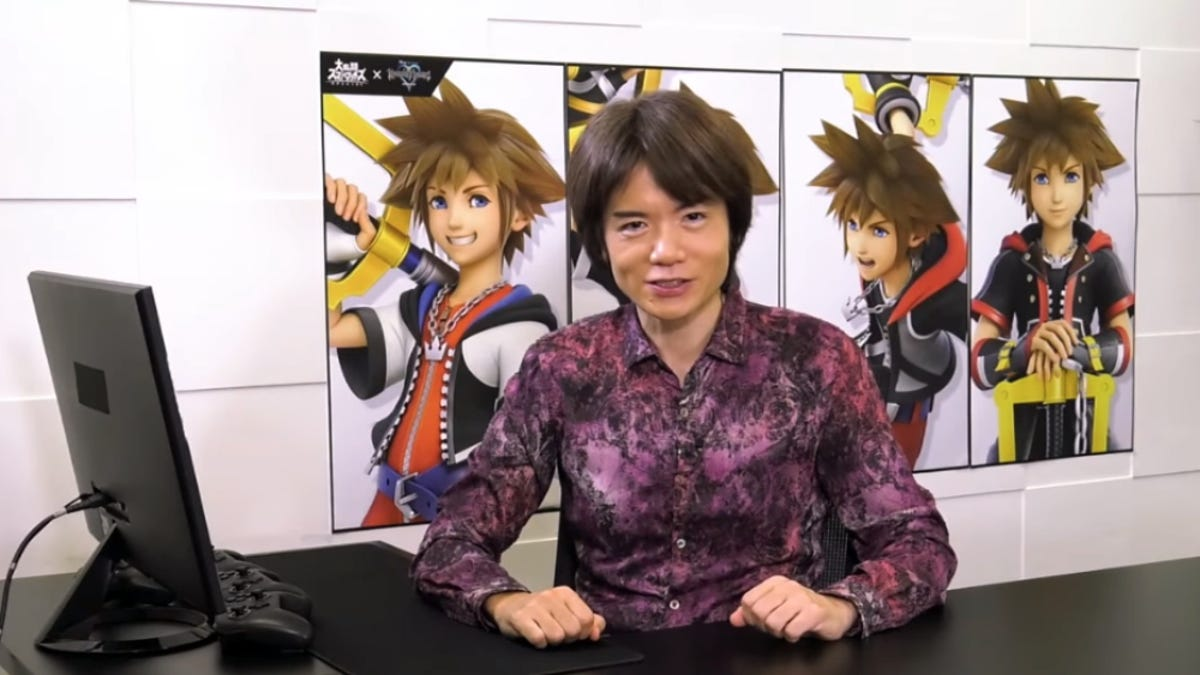 Masahiro Sakurai Explains How Sora Came To Super Smash Bros. Ultimate