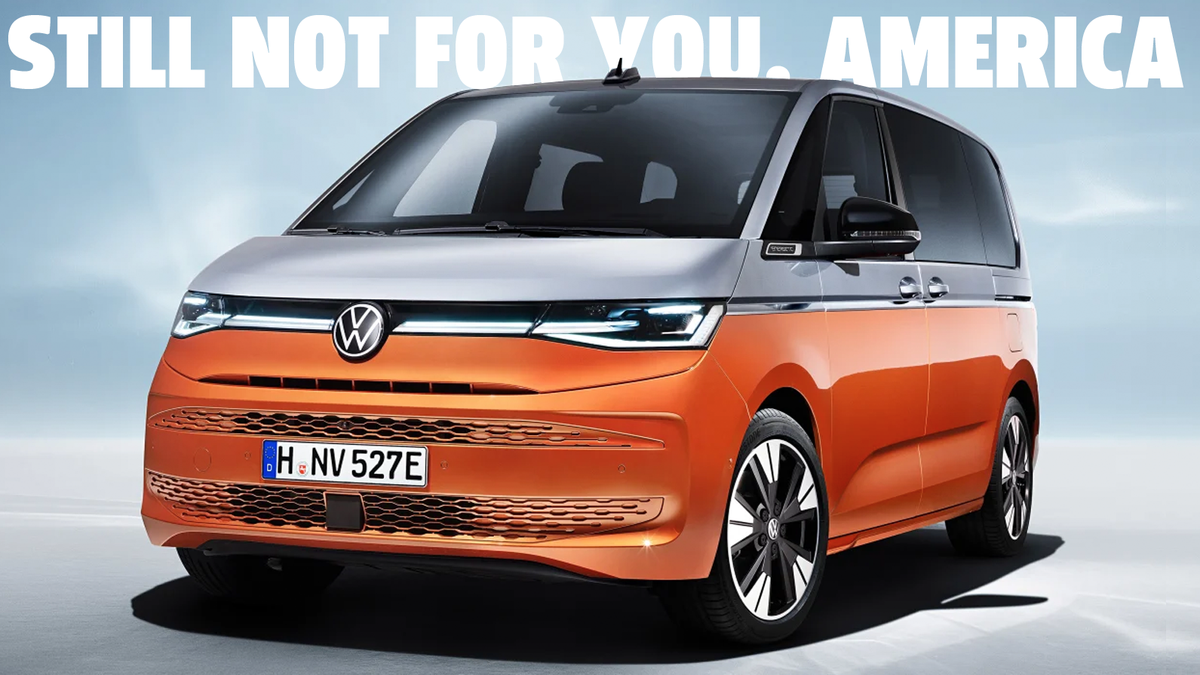 VW Releases New Version Of Van Americans Would Want But They Can't Have