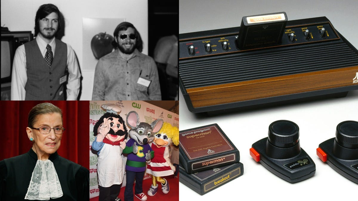 Steve Jobs, RBG, and Chuck E. Cheese are connected by this early Atari hit
