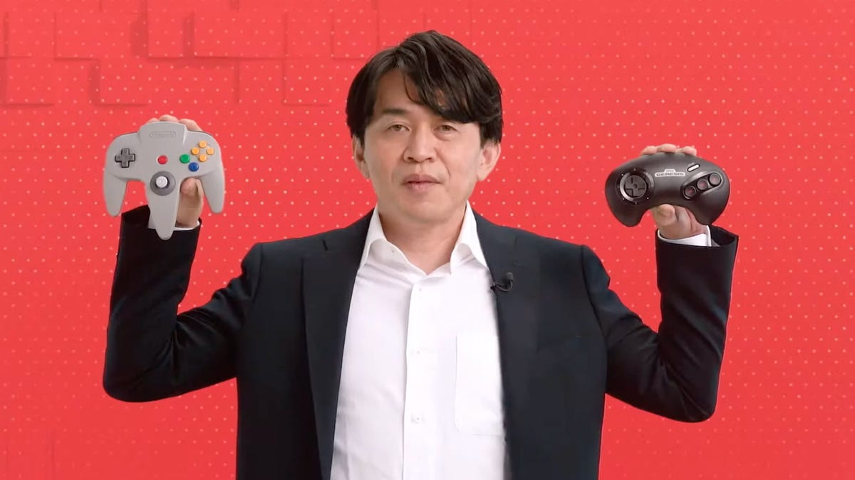 Nintendo Resurrects N64 and Sega Genesis Controllers for the Switch