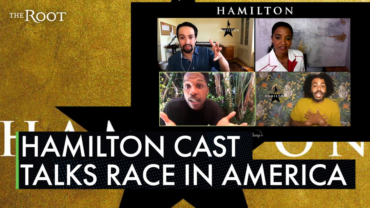 'All of These Guys Are Complicit in the Brutal Practice of Slavery': The Cast and Crew of Hamilton Have a Reck thumbnail