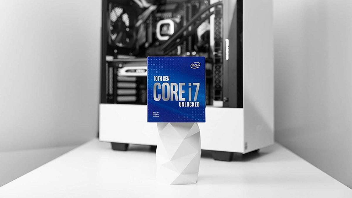 Unlock Your PC's True Potential: The Intel Core i7-10700KF Processor Is $96 Off