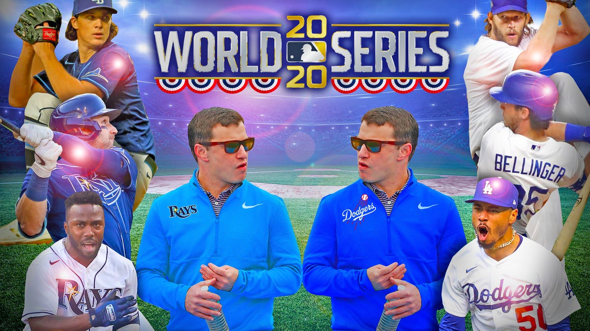 Dodgers vs Rays: The 2020 World Series Preview  - cover