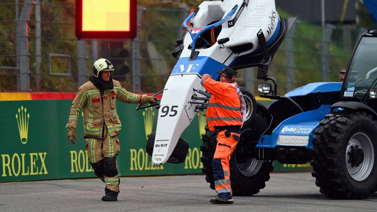 Sechs Fahrer der W-Serie nach schrecklicher Massenkarambolage in Spa-Francorchamps wie durch ein Wunder wohlauf€
