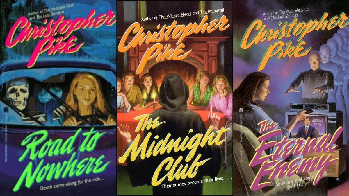 The Haunting Of Hill House's Mike Flanagan is dusting off some old Christopher Pike paperbacks for Netflix