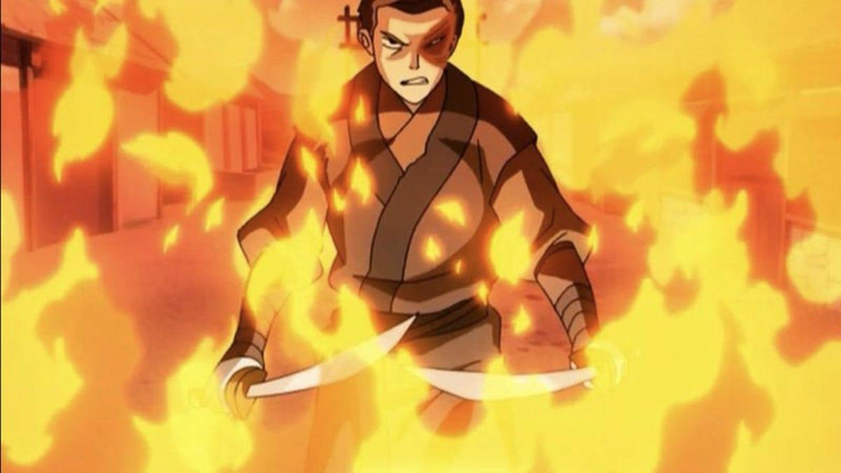 "Avatar Azula Mai Ty Lee avatar: the last airbender: ""zuko alone""/""the chase"""