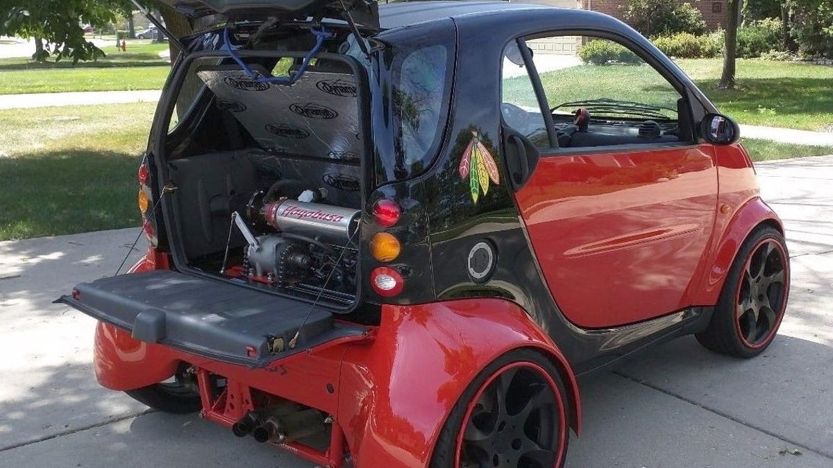 Smart Car With Hayabusa Engine >> At 23 500 Could This Hayabusa Powered 2002 Smart Fortwo Be