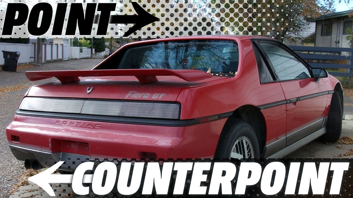 The Pontiac Fiero Was Both The Worst And Best Car Of The 1980s