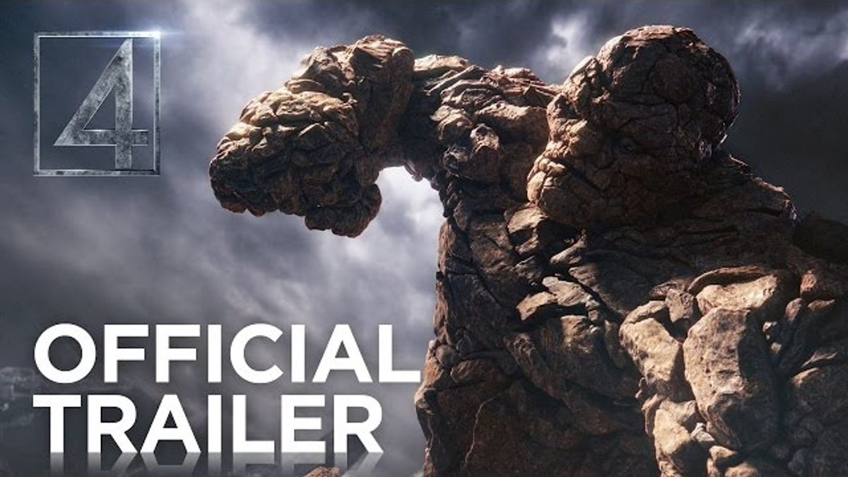New Fantastic Four Trailer Actually Looks Pretty Badass