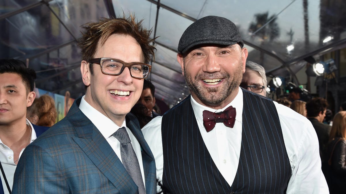 James Gunn reminds Dave Bautista that he's his one and only Drax