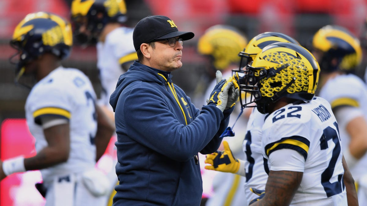 So now Jim Harbaugh is finally ready to 'die trying' to defeat Ohio State?