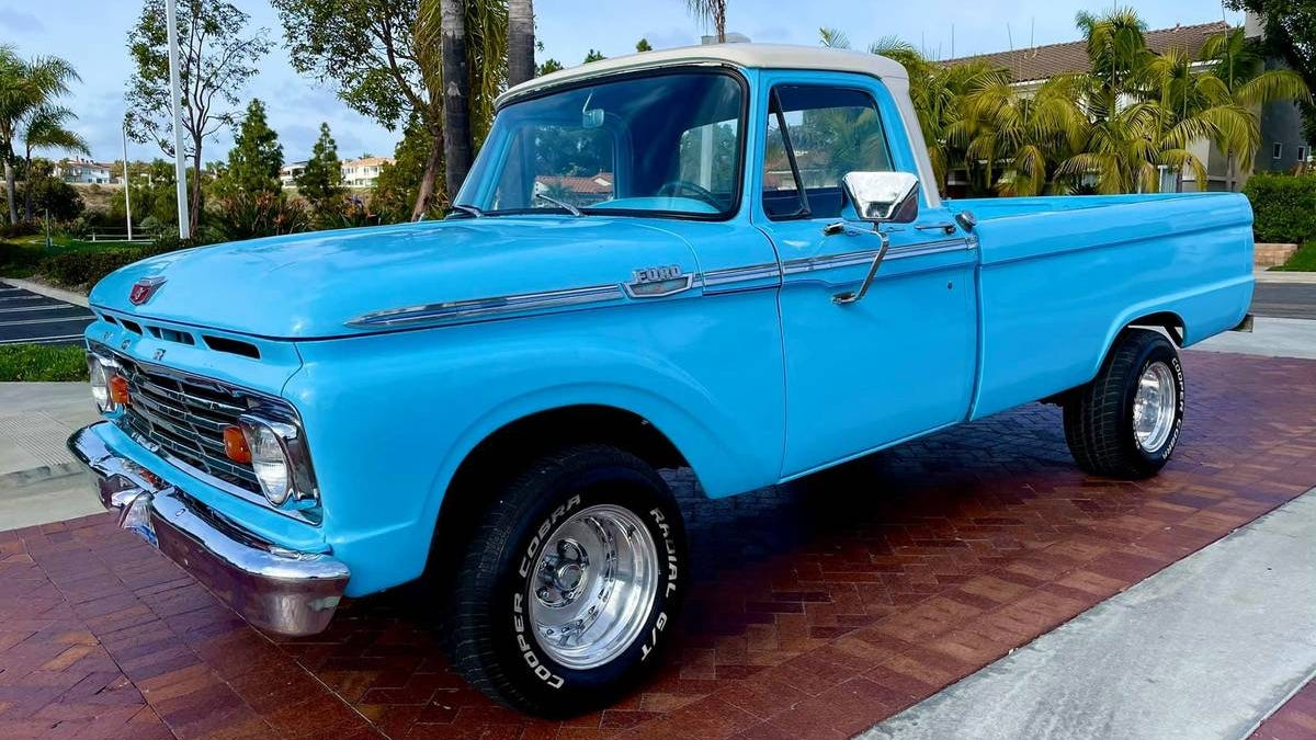 At $16,999, Could This Restored 1964 Ford F100 Be A Deal?