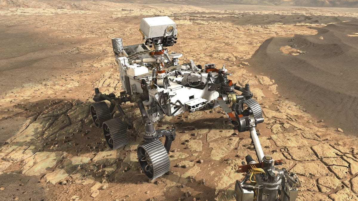 NASA's Next Mars Rover Is Going to Be Seriously Badass