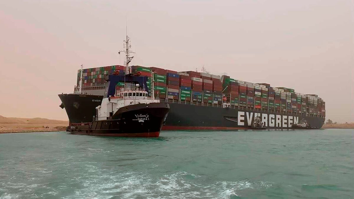 Stuck Suez Canal Boat Raised Oil Prices, Because That's Oil Folks