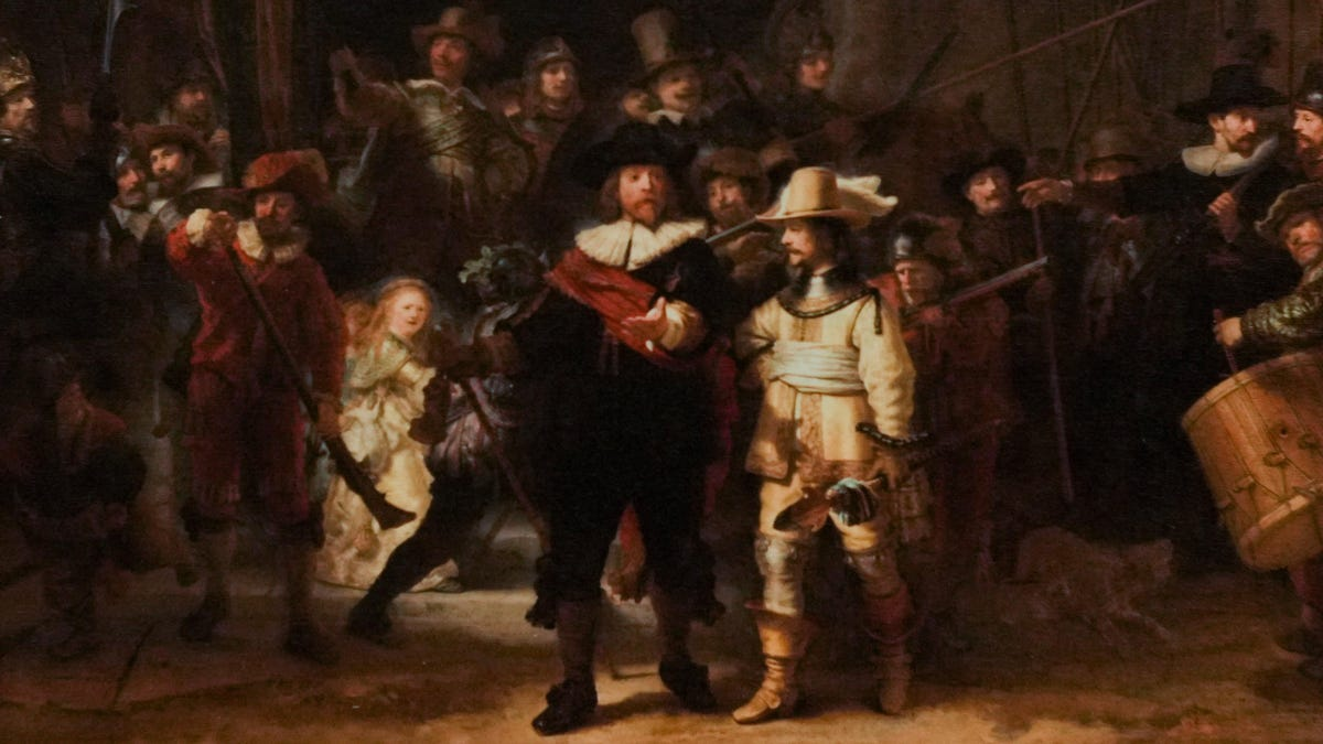 AI Helps Restore the Missing Pieces of a Chopped-Up Rembrandt