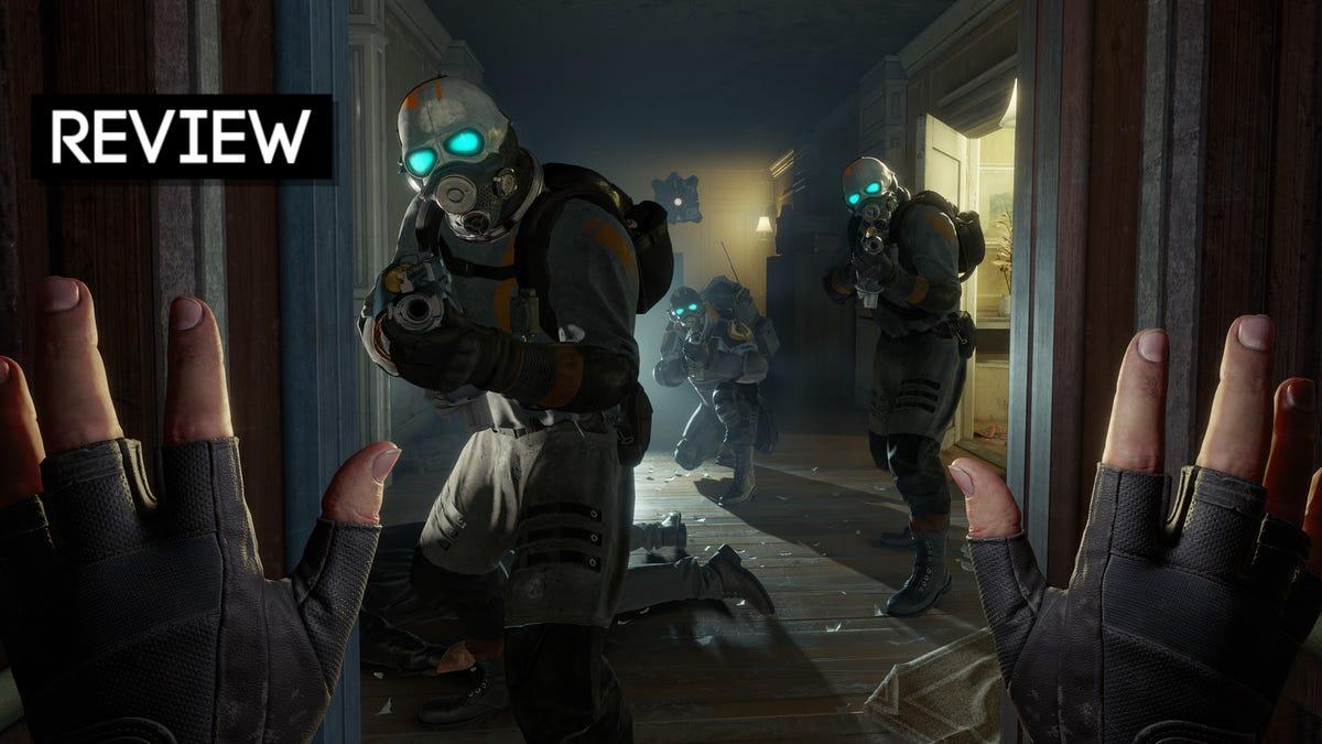 Half-Life: Alyx: The Kotaku Review
