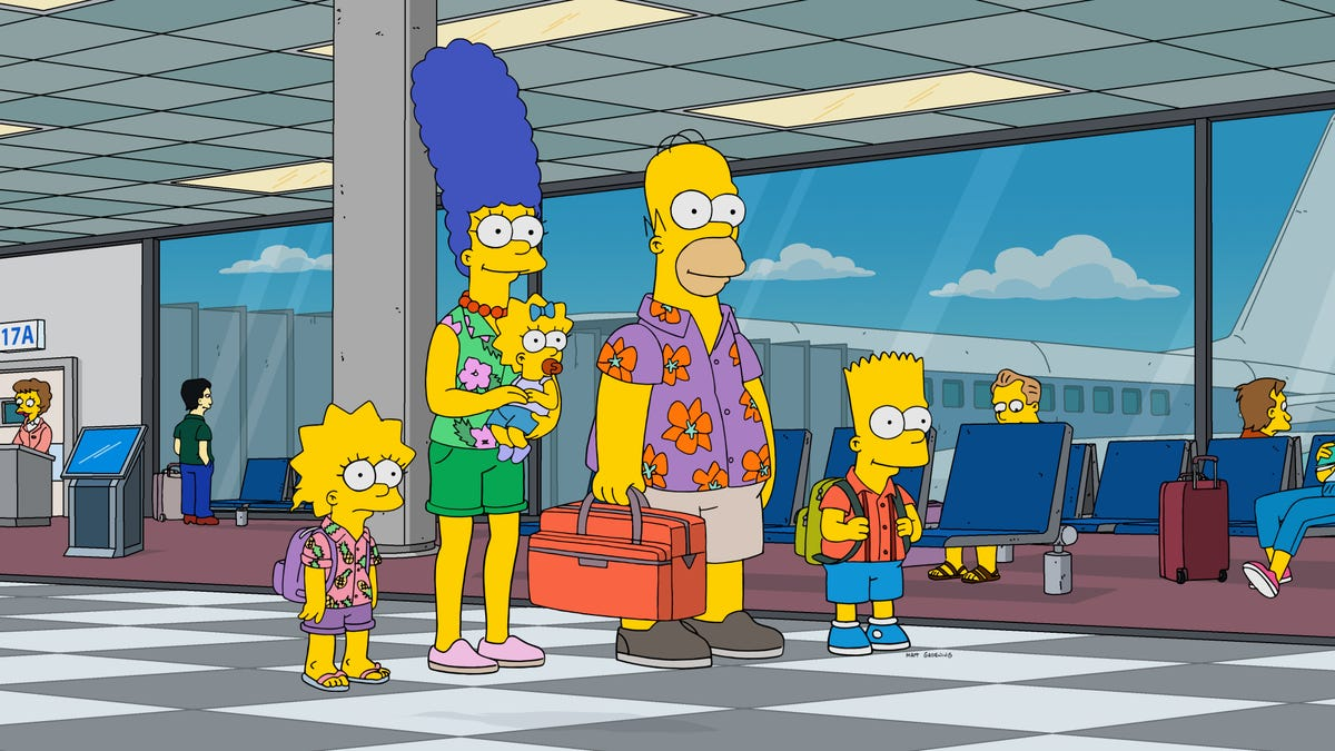 A well-written Simpsons gives the family a satisfying vacation for a change
