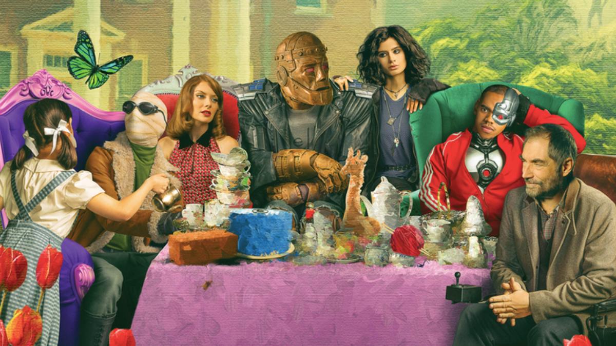Novos cartazes da segunda temporada de Doom Patrol revelam Dorothy Spinner 11