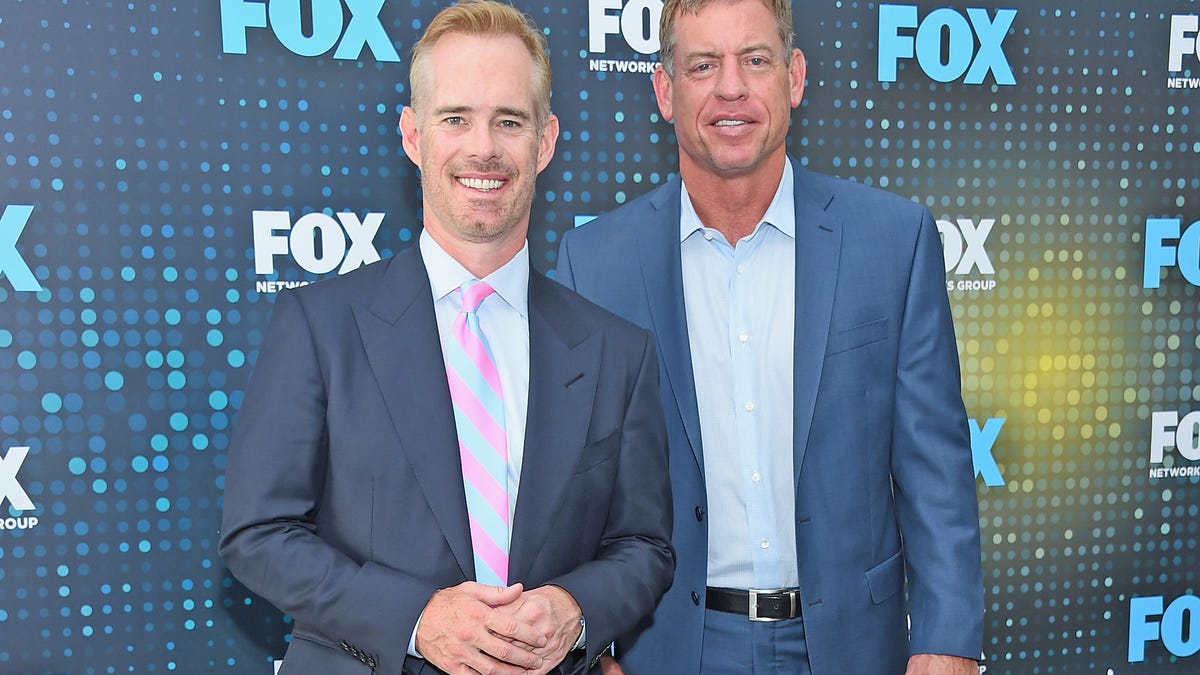 On a hot mic, Joe Buck and Troy Aikman reveal how fake the NFL's patriotism is