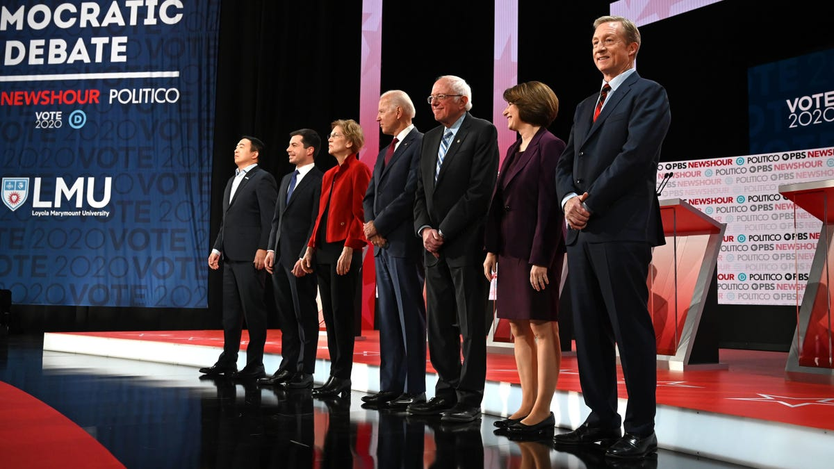 The Best and Worst Lines From Last Night's Democratic Presidential Debate