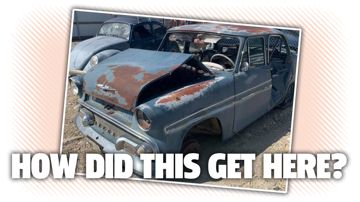 Staggeringly Rare Old Skyline Shows Up In An Idaho Junkyard