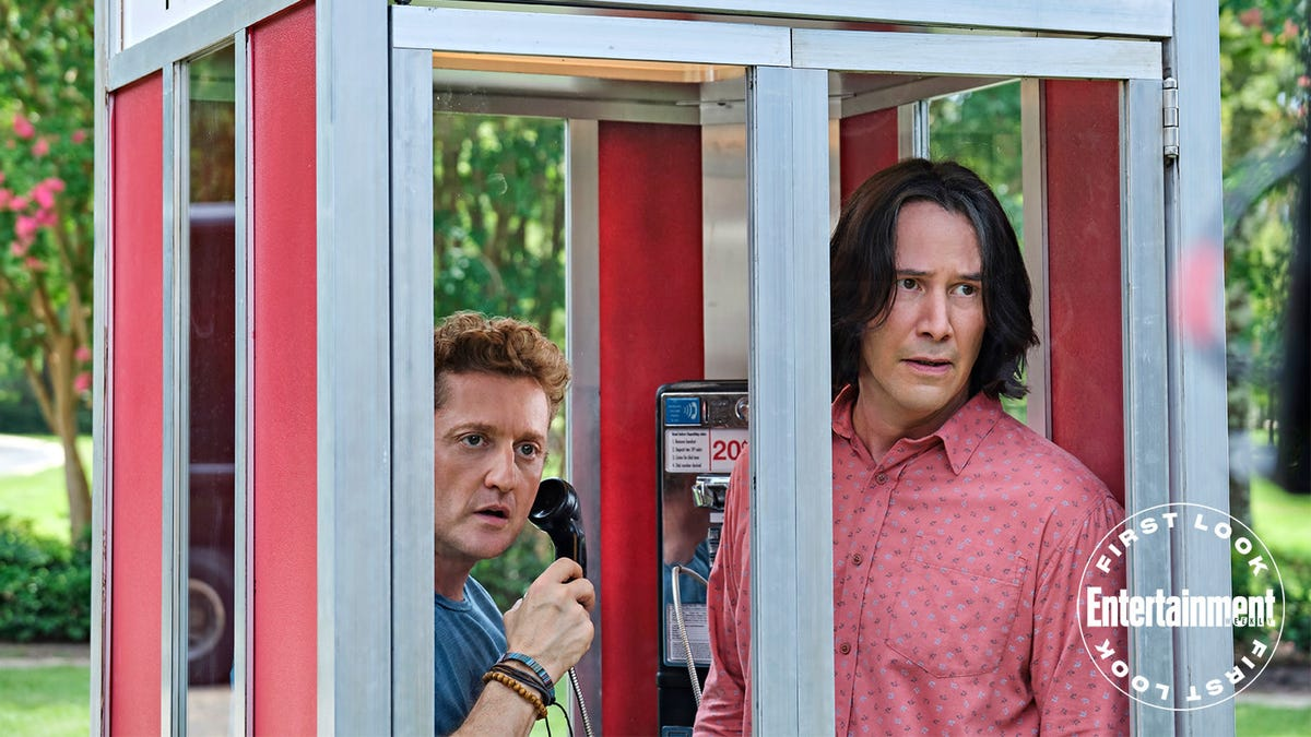 Whoa: It's a First Look at Keanu Reeves and Alex Winter's Return in Bill & Ted Face the Music