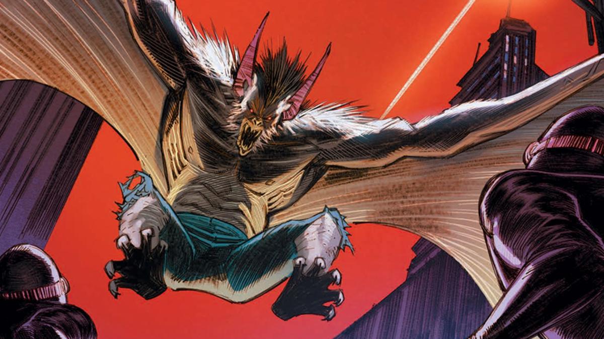 Man-Bat Is Finally Making His Solo Comic Debut Next Month